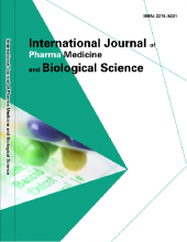 International Journal of Pharma Medicine and Biological Sciences
