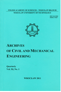 Archives of Civil and Mechanical Engineering