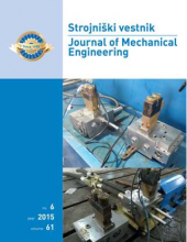 Strojniški vestnik – Journal of Mechanical Engineering