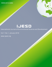 International Journal of Environmental Science and Development